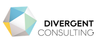 Logo with cube